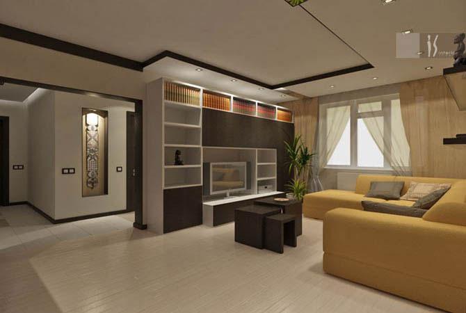 Готовый дизайн проект квартиры